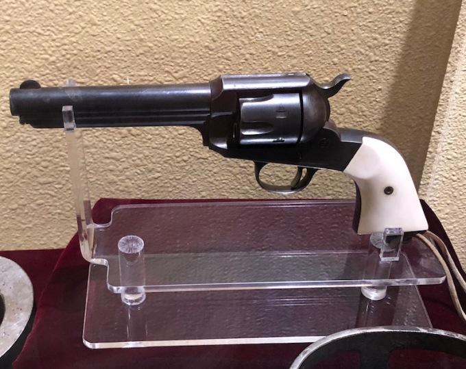 Shores' gun