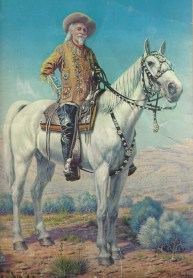 Bill on horse